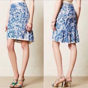 Anthropologie Moulinette Soeurs Sequin Skirt